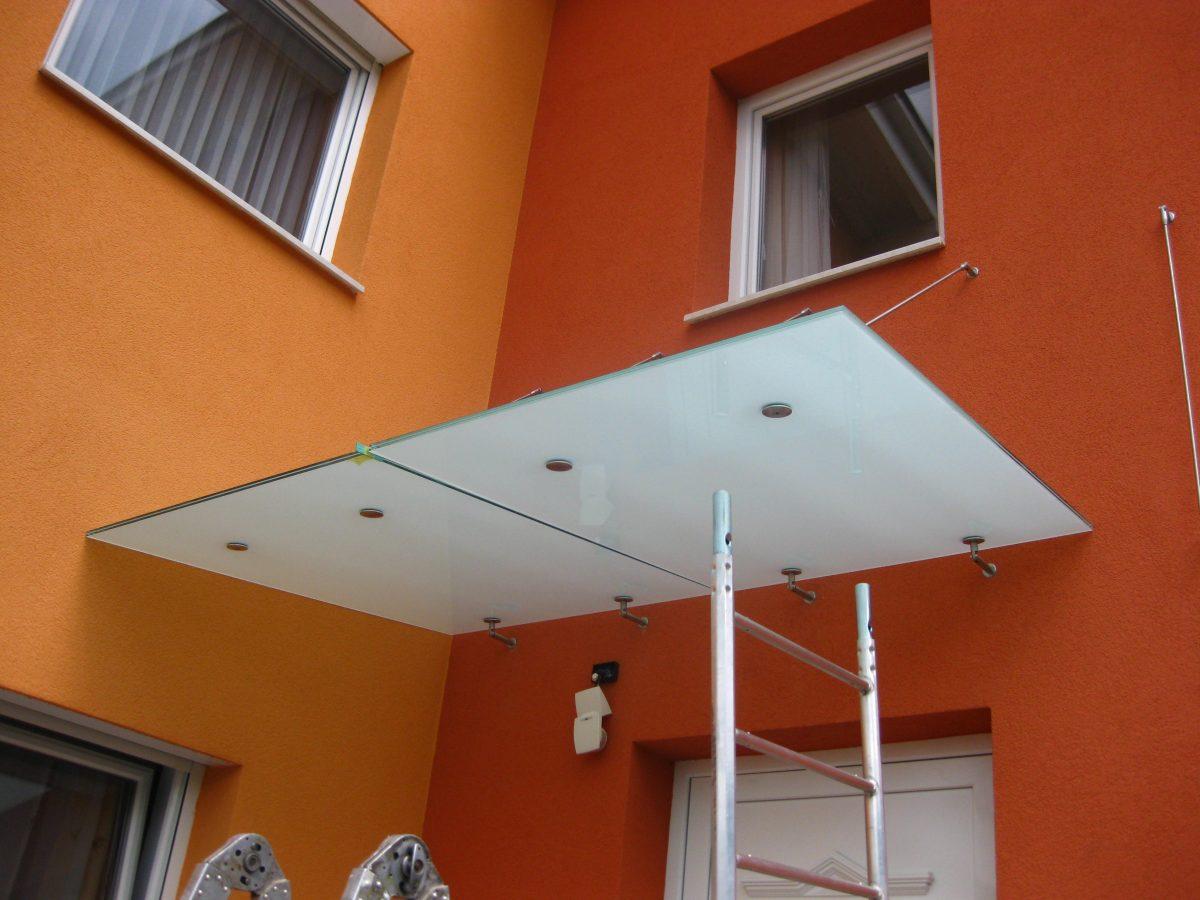 Vordächer & Glasanfertigungen