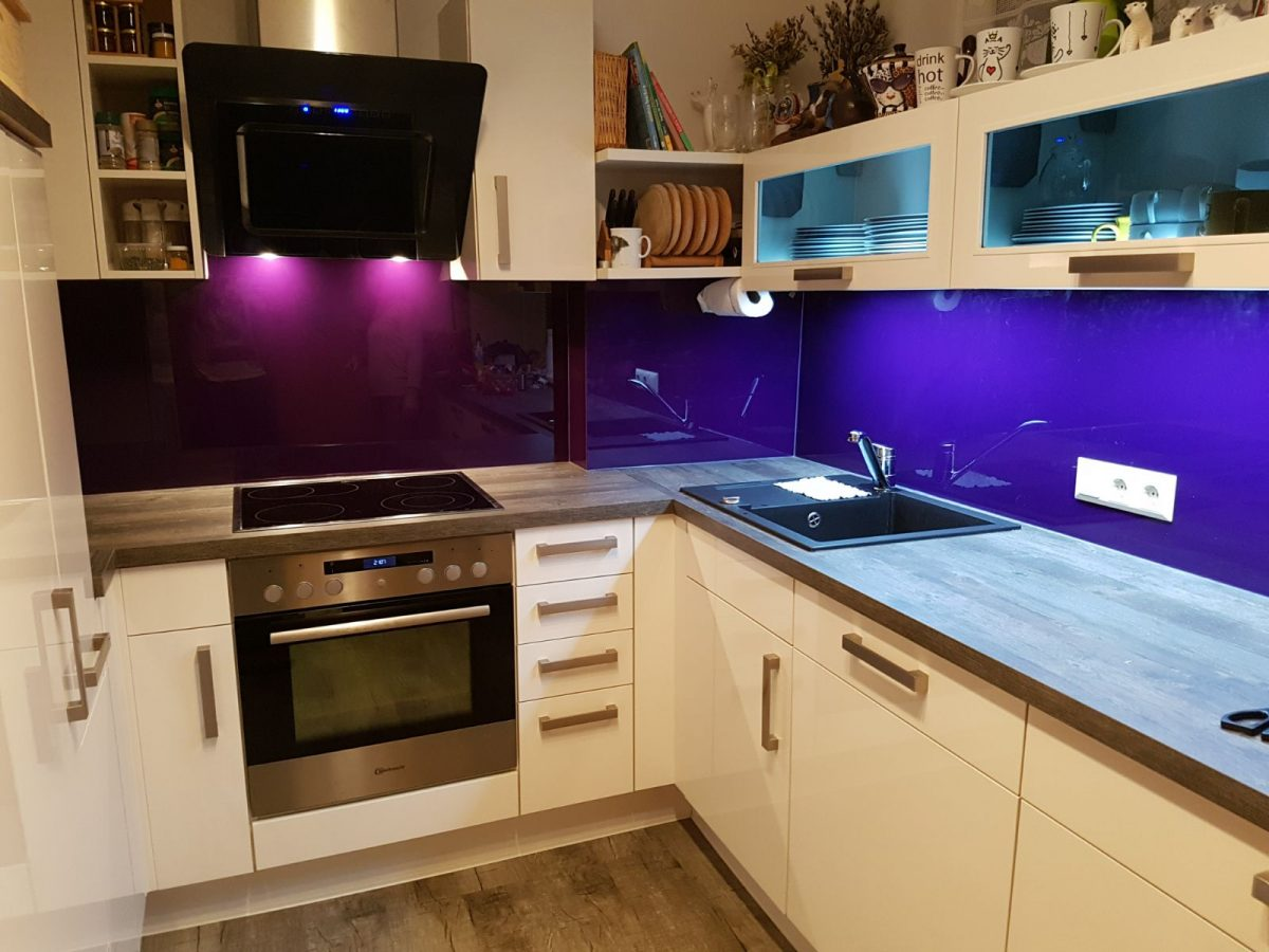 Küchenverglasung & Kunstverglasung